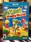 Nintendo Wii U Game Yoshi's Wolly World (Very Low Price!)