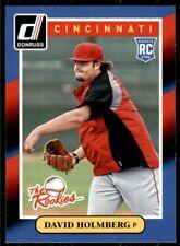 2014 Panini Donruss The Rookies David Holmberg Cincinnati Reds #38
