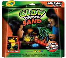 Crayola Glow Explosion - Sand Art Scenes
