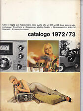 CATALOGO 1972 - 1973 GBC ELETTRONICA