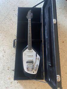 Rare Vintage 1965-1968 Made In Italy Vox Phantom VI Electric Guitar NO RESERVE!