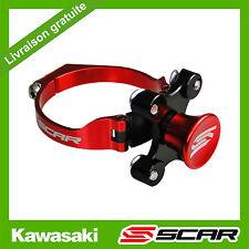 KIT DEPART HOLESHOT BLOQUE FOURCHE KAWASAKI KXF 250 450 KX250F KX450F ROUGE SCAR