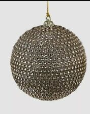 Katherine's Collection Thread Of Gold Rhinestone Ball Ornament 18-845931