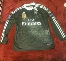 Real Madrid Long Sleeve Black Dragon Ronaldo Small Jersey
