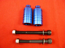 FIREWHEEL-INC BLUE SCOOTER ALLOY GRIND PEGS *NEW* WILL FIT MOST SCOOTERS