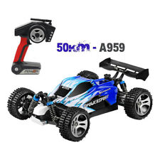 Wltoys A959B Upgraded 540 Brush Motor High Speed 50km/h 1:18 4D 2.4G RC Car UK