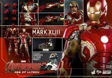 鋼鐵人鐵甲奇俠Hot Toys Avengers AOU Tony stark Iron Man Mark XLIII 43 MMS278 D09