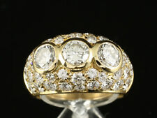 Traumhaftter Brillant Ring ca. 3,60ct    750/- Gelbgold