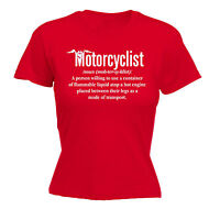 Motorcyclist Noun WOMENS T-SHIRT tee motor bike motorcycle funny mothers day