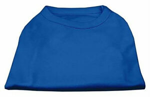 Mirage Pet Products 16-Inch Plain Shirts, X-Large, Blue
