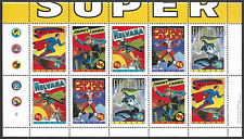 Canada - Stamps -Pane of 10 Without fold - Comic Book Superheroes #1583bii - MNH