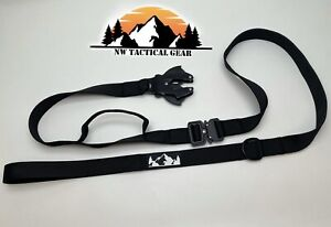 TACTICAL Dog Leash - Heavy Duty Load Bearing Quick Connector Release Buckle vet