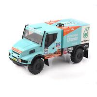 Diecast 1/43 Scale Rally Dakar IVECO Powerstar 501Truck Racing Car Vehicle Model