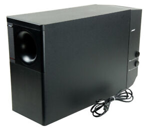 Bose Lifestyle Acoustimass 25 Series ll Powered Subwoofer Module Tested, Black,