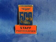 Indy 500 1994 STAFF PHOTOGRAPHER Pin EMPLOYEES ONLY Mustang Cobra Pacecar