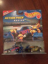 Hot Wheels Action Pack Racing T-Bird & Buick Stocker Die Cast 1:64, MISP (B56)