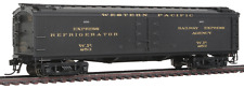 "HO Scale - BROADWAY LIMITED 1848 WESTERN PACIFIC 53'6"" Wood Express Reefer # 253"