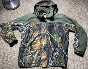 ScentLok Supreme GORE-TEX Hunting CAMO HUNTING Jacket W SHELL Hood Waterproof L