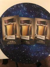 Dolce & Gabbana THE ONE for Men Eau de Toilette 2x 1.5ml / 0.05 fl.oz. NEW