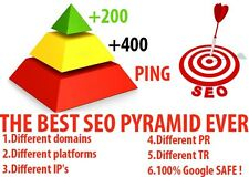 I will make powerfull seo pyramid backlink to your website 100% safe google