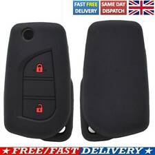 For Toyota Yaris Aygo For Citroen C1 Silicone Remote Key Case Fob Shell Cover