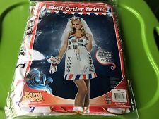Rasta Imposta Mail Order Bride, SEXY DRESS White ADULT Sizes 4-10 New FREE S/H !