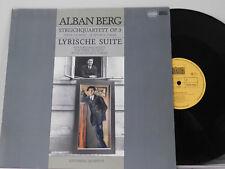 Schonberg Quartett Lp STREICHQUARTETT / LYRISCHE SUITE ~ Schwann VG++