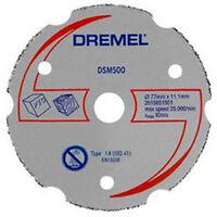 1 x Scheibe Schneid- Mehrzweck für DSM20 DREMEL 2615S500JA DSM500
