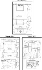 Scale Motorsport 1/24 Mazda 787B Renown Template Comp. Fiber Decal Set 7115