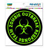 Zombie Outbreak Response Team Green - Circle - MAG-NEATO'S™ Car Vinyl Magnet
