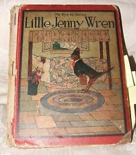 1923 Reprint Bye-lo Series Little Jenny Wren Mother Goose Blanche Fisher Wright