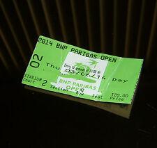 2014 BNP Paribas Open- Indian Wells - Used Stadium 2 Ticket - Martina Hingis
