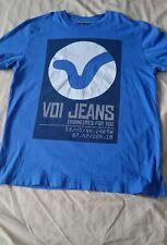 Boys Voi Jeans T-shirt Size LB