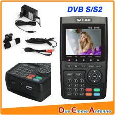 STRUMENTO SATLINK WS6916 SAT DISPLAY 3.5 POLLICI - DVB-S, DVB-S2 -MPEG-2 ,MPEG-4
