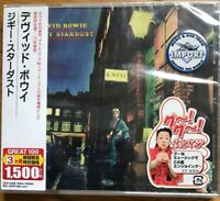 David Bowie – The Rise And Fall Of Ziggy Stardust GREAT 100 JAPAN CD SEALED