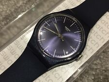NEW SWATCH NEW GENT NAITBAYANG WATCH SUOB136 MENS/LADIES/BOYS/GIRLS Blue Sparkle