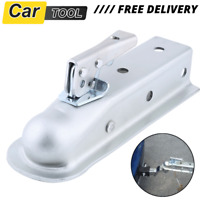 50mm Heavy Duty Trailer Towing Hitch Coupling Tow Bar Ball Draw Pressed Steel
