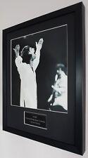 Oasis Framed Original Knebworth Programme-Plaque-Certificate-Liam Gallagher