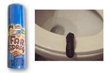 Combo Fart Spray And Fake Human Poop Turd Crap Realistic Toilet Prank Gag Gift