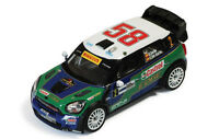 IXO RAM469 MINI COUNTRYMAN JCW diecast model rally car Monza Rally 2011 1:43rd