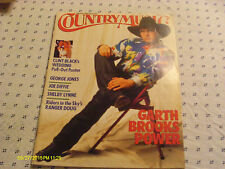 Garth Brooks Covers Country Music Magazine 1992 Clint Lisa Black Wedding Poster