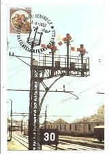 BARI - Treni / Stazione - 1°Mostra Filatelica Ferroviaria ( 1 ) 11 Giugno 1982