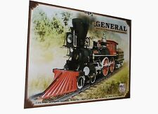 MPC The General American 4-4-0 Wood Burning Steam Locomotive model kit 1/25