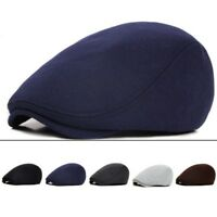 Men Women Retro Beret Hat Newsboy Gatsby Cap Golf Driving Flat Cabbie Hat
