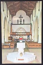 BLAKENEY St Nicholas Church POSTCARD Norfolk NAVE & CHANCEL Unposted 238