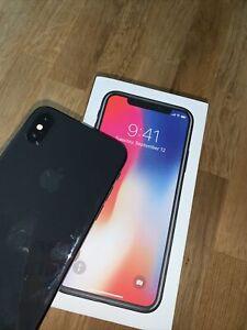 I Phone X Black 64G
