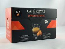 132 cápsulas cafe royal para nespresso variedad Classic espresso Forte