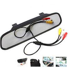 """Auto 4.3"""" TFT Color Digital LCD monitor del espejo de coche invertir el aparcamiento retrovisor"""