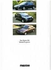 Prospekt Mazda 323 Programm 9/94 1994