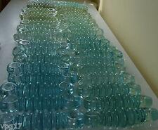 """ISOLANTE in vetro a costine 7 """"Blu verde colore Phoenix 1 PC"""